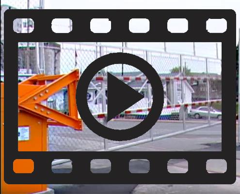 Hochsicherheitsschranke BLG 77 Video