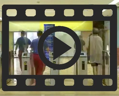 Sensorschleuse PNG Video